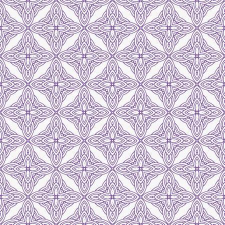 Art-deco seamless geometric pattern with retro ornament. Vector illustration