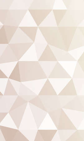 Creative triangle pattern in polygonal style. Vector illustration. Pastel color.