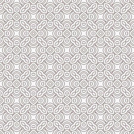 Geometric Pattern. Seamless Texture Grey Color Background. Vector illustration. Çizim