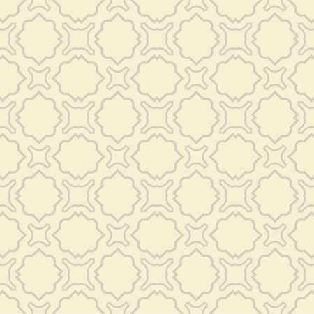 Vector Illustration. Seamless Pattern With Ornament, Decorative Border. Design For Print Fabric, Wallpaper, Interior deocoration. Ilustracja