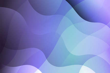 Wave background. Abstract geometric pattern. Vector illustration. Blue color
