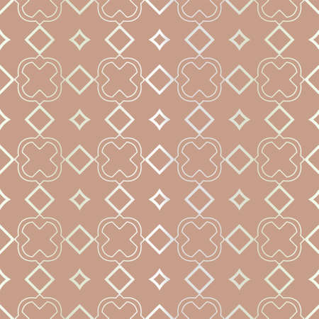 Seamless geometric pattern with modern ornamnet. Vector illustration. Reklamní fotografie - 133971983