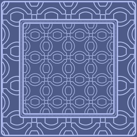 Decorative pattern for fashion print. Sample tablecloth or bandanna design. Vector illustration. Reklamní fotografie - 133971982