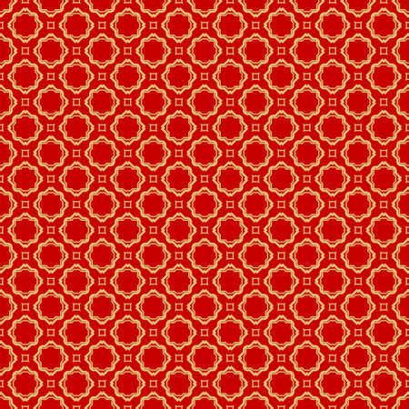 Repeating Geometric Pattern with Triangle, Zig Zag. Vector Background, Texture. For Design Invitation, Interior Wallpaper, Cover Card, Technologic Design. rED GOLD COLOR Ilustrace