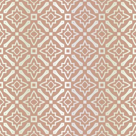 Seamless geometric pattern with modern ornamnet. Vector illustration. Reklamní fotografie - 133972659