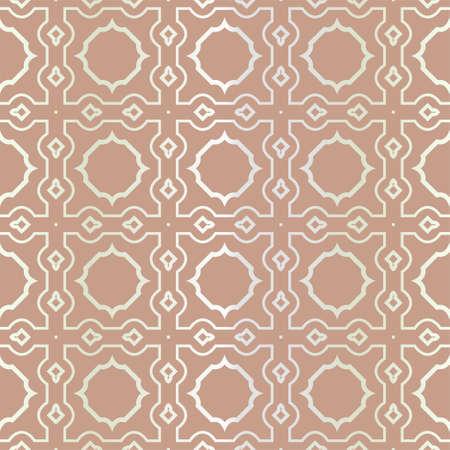 Seamless geometric pattern with modern ornamnet. Vector illustration. Reklamní fotografie - 133972907