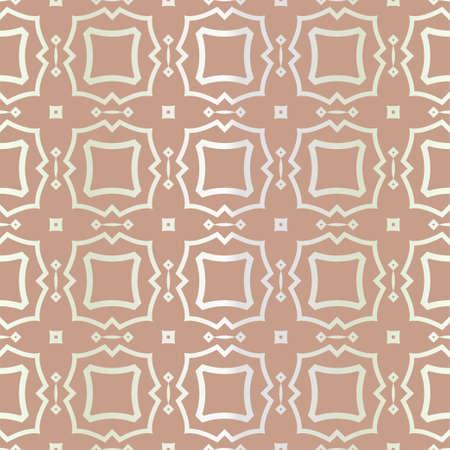 Seamless geometric pattern with modern ornamnet. Vector illustration. Reklamní fotografie - 133973268