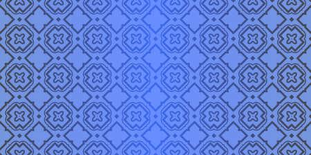Seamless geometric pattern with decorative art-deco modern ornamnet. Vector illustration.