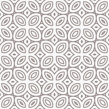 Geometric Pattern. Seamless Texture Grey Color Background. Vector illustration. Ilustrace