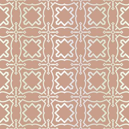 Seamless geometric pattern with modern ornamnet. Vector illustration. Reklamní fotografie - 133972853