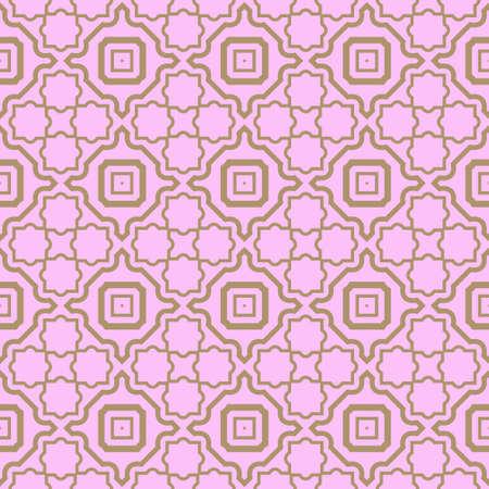 Seamless geometric pattern with modern decorative ornament. Vector illustration. Reklamní fotografie - 133972868