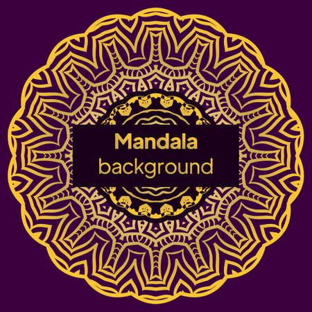 ornamental mandala design background. Oriental pattern, vector illustration. Islam, Arabic, Indian, moroccan, spain, turkish, pakistan, chinese, mystic, ottoman motifs.
