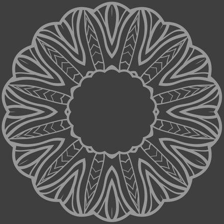 Rosette ornaments. Vector illustration for design. Sacred oriental mandala. color floral ornament. Modern Decorative