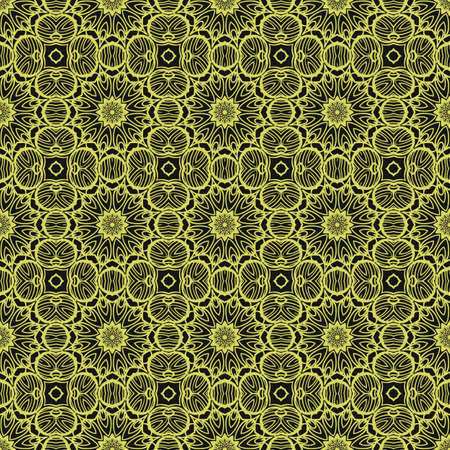 Abstract Vector seamless pattern with abstract geometric style. For Interior Design, Printing, Web And Textile Design.