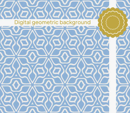Geometric simple seamless Pattern. Vector illustration. For fabric, textile, scarg, super print