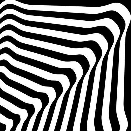 Rhythmic striped line background. Vector illustration Illusztráció