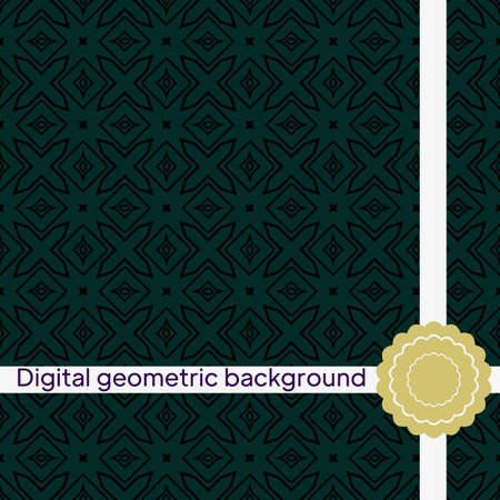 seamless geometric patterns. Beautiful vintage textures.Vector backgrounds for your design