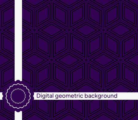 geometric shape. Geometric seamless pattern. vector illustration for wallpaper design, prints