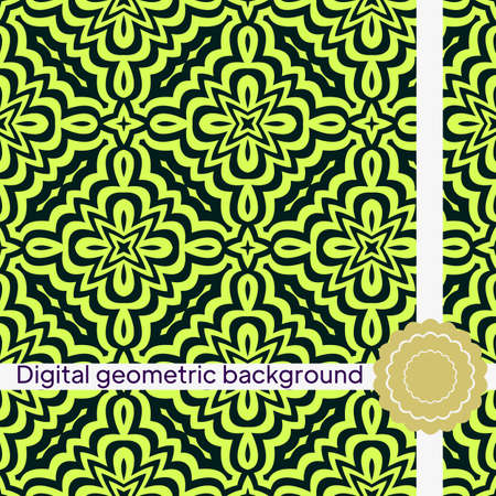 different abstract hand drawn seamless patterns. vector illustration