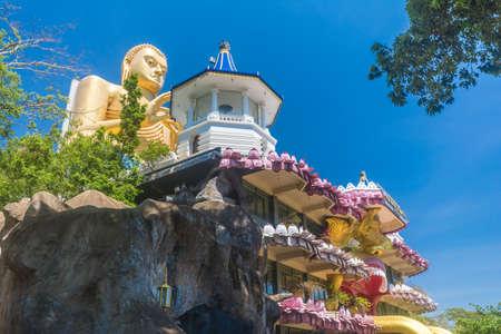 tabernacle: Dambulla cave temple. Sri Lanka