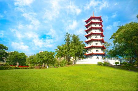 Pagoda at the Singapore Chinese Gardens