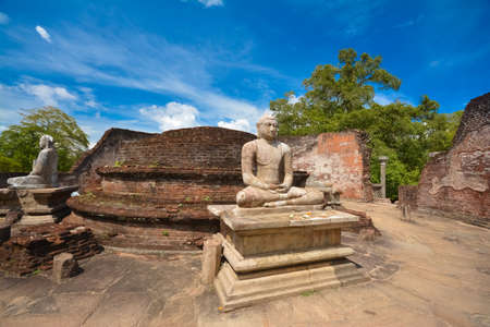 Boeddha Stupa - Vatadagaya Polonnaruwa