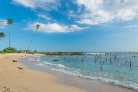 Beautiful Coastal area Koggala Sri Lanka