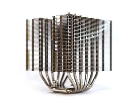 highend: High-end di grande torre tipo di CPU del dissipatore di calore di tipo tower Archivio Fotografico