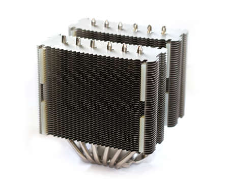High-end huge tower type CPU heatsink tower type photo