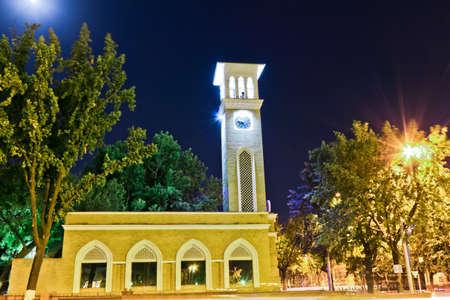 The symbol of Tashkent city  chapel  Stock Photo