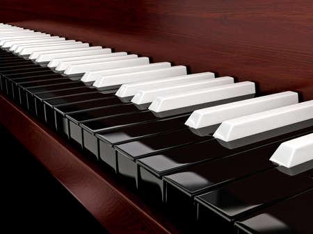 반전 키와 검은 피아노