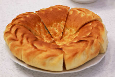 лепешка узбекская рецепт с фото без дрожжей