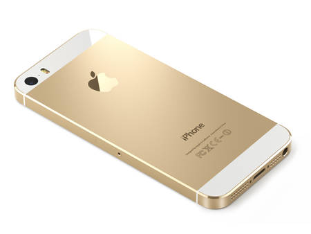 Apple iphone 5s gold (back)
