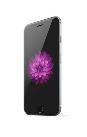 Apple iphone 6 space grey Editorial