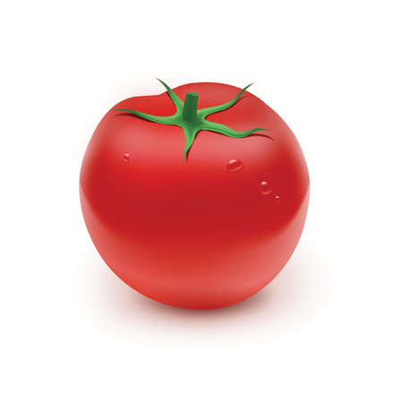 rich in vitamins: Red tomato