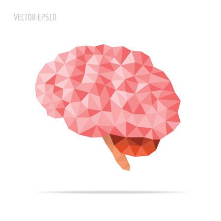 뇌면 처리 일러스트