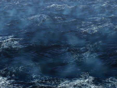 squall: Hard storm in the ocean