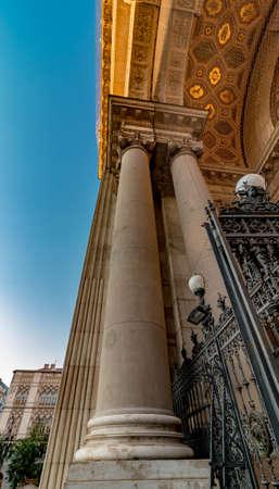 St. Stephens Basilica roman catholic church building of Budapest, neo-classic style architecture