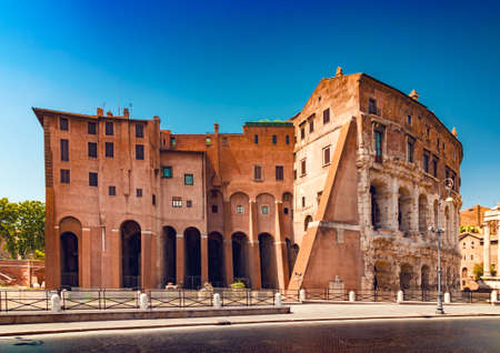 Theatre of Marcellus - also known as mini colosseum, Rome Italy Reklamní fotografie