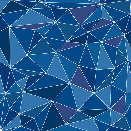 Seamless pattern made of polygonal triangles, vector illustration