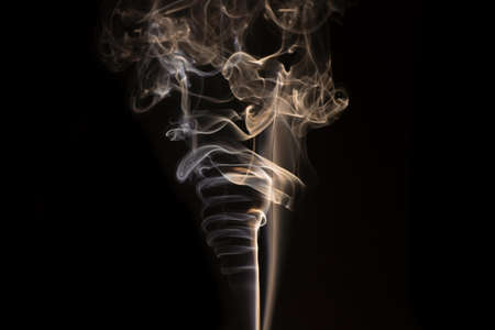 frantic: Abstract smoke in a funnel shape