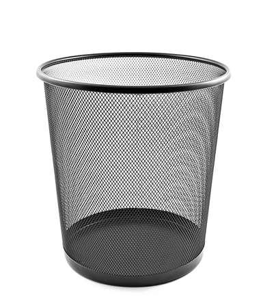 wastepaper basket: Cestino vuoto Archivio Fotografico
