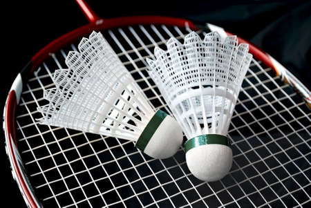 Badminton equipment photo