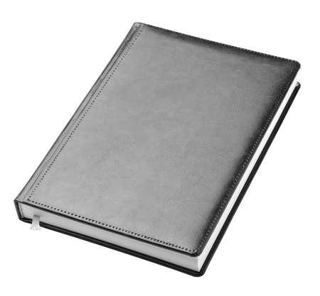 Simple black hardcover book  photo