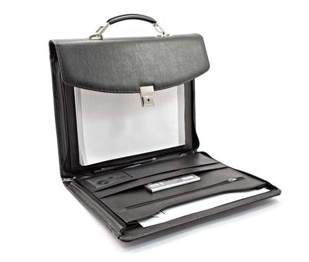 black briefcase: Luxury business black briefcase