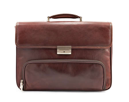 case: Brown briefcase