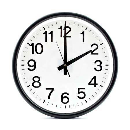 reloj pared: Negro Reloj de pared