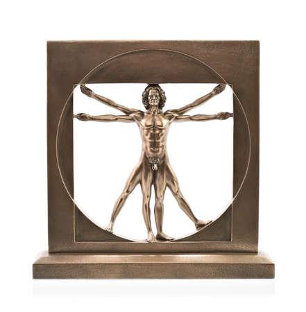 uomo vitruviano: Uomo vitruviano di Leonardo Da Vinci