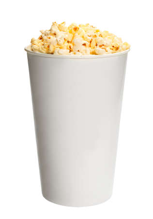 Popcorn in cup photo