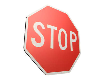 stop sign Stock Photo - 511548